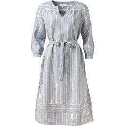 Thought Luis Stripe Midi Hemp Dress