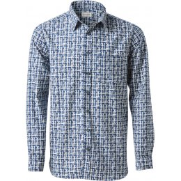 Nomads Etch Navy Long Sleeve Shirt