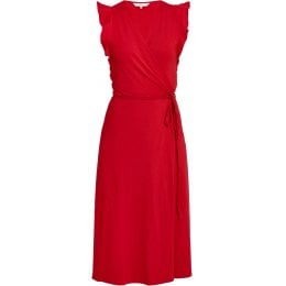 People Tree Red Melanie Wrap Dress