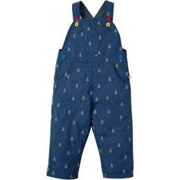 Frugi Chambray Anchor Little Tom Dungaree