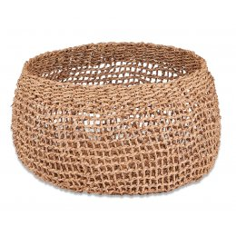 Mendi Natural Seagrass Basket - Medium