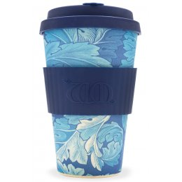 William Morris Organic Bamboo Coffee Cup - Acanthus - 400ml