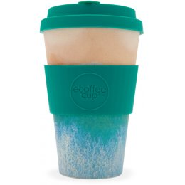 Surfers Against Sewage Reusable Bamboo Coffee Cup - Porthcurno - 400ml