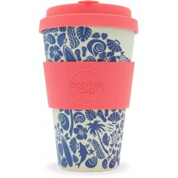 Surfers Against Sewage Reusable Bamboo Coffee Cup - Waimea Bay - 400ml