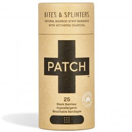 PATCH Activated Charcoal Bamboo Plasters - Tube of 25
