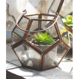 Copper finish Tealight Holder - Large