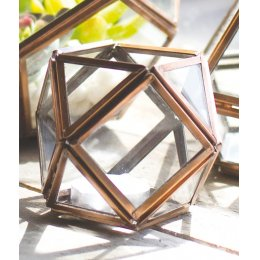 Copper finish Tealight Holder - Small