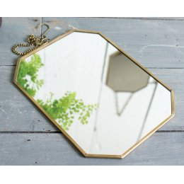 Geometric Hanging Mirror