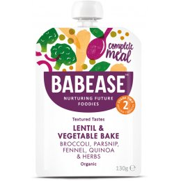 Babease Organic Lentil & Vegetable Bake - 130g