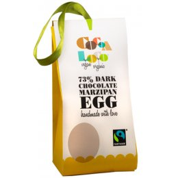 Cocoa Loco Dark Chocolate & Marzipan Egg - 40g