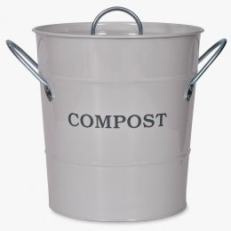 Compost Bucket 3.5L - Chalk