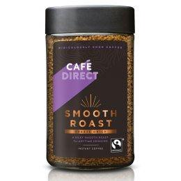 Cafedirect Fairtrade Smooth Roast Instant Coffee - 200g