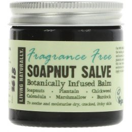 Living Naturally Fragrance Free Coconut Salve - 60ml