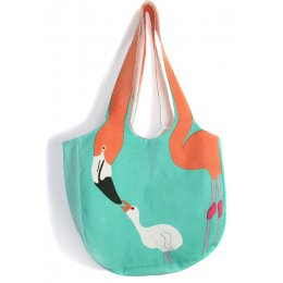 Chilean Flamingo Beach Bag
