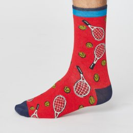 Thought Mens Sport Club Bamboo Socks - Tennis
