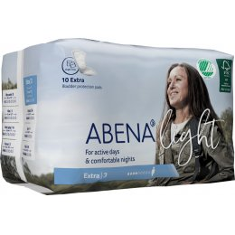 Abena Light Incontinence Pads - Extra - Pack of 10
