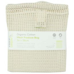 A Slice of Green Organic Cotton Mesh Produce Bag - Large