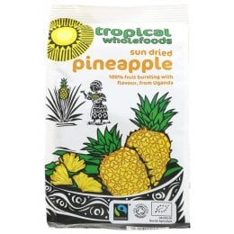 Tropical Wholefoods Sun Dried Pineapple - 100g