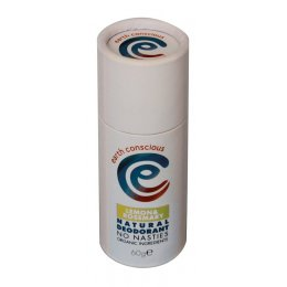 Earth Conscious Lemon & Rosemary Natural Deodorant Stick - 60g