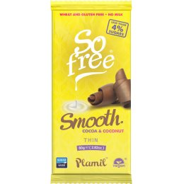 Plamil So Free Smooth Chocolate Bar - 80g