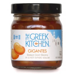 The Greek Kitchen Gigantes Baked Giant Beans in a Tomato Sauce - 280g