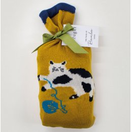 Thought Womens Kitty Bamboo Socks in a Bag - 2 Pairs