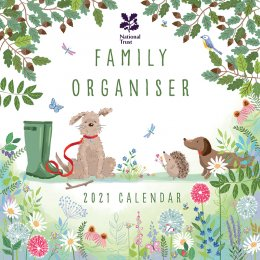 National Trust 2021 Family Organiser