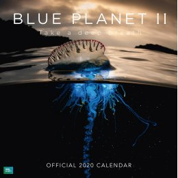 Blue Planet Official 2020 Wall Calendar