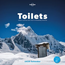 Lonely Planet Toilets 2020 Wall Calendar