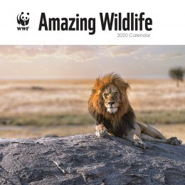 WWF Amazing Wildlife 2020 Wall Calendar