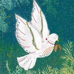 Winter Dove Festive Charity Cards - Pack of 10