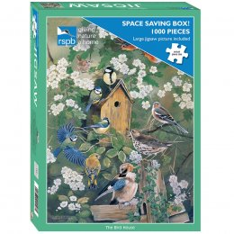 RSPB The Bird House Jigsaw - 1000 Piece