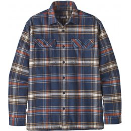 Patagonia Mens Defender Fjord Flannel Shirt - Neo Navy