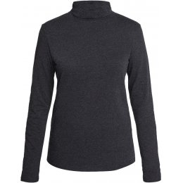 People Tree Laila Roll Neck Top - Grey