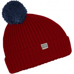 Komodo Hubba Red Bobble Hat