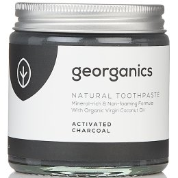 Georganics Natural Toothpaste - Activated Charcoal - 120ml