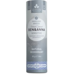 Ben & Anna Natural Sensitive Deodorant - Highland Breeze - 60g