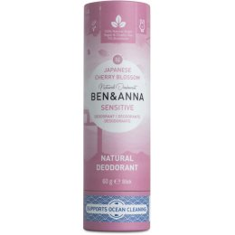 Ben & Anna Natural Sensitive Deodorant - Cherry Blossom - 60g