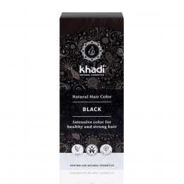 Khadi Herbal Hair Colour - Black - 100g