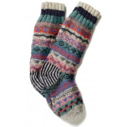 Womens Finisterre Long Socks - Oatmeal