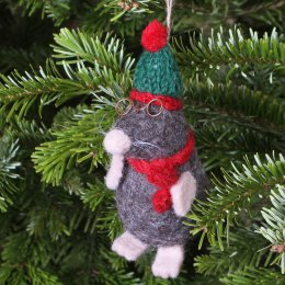 Hanging Christmas Decoration - Mr Mole