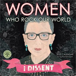 Women Who Rock Our World 2020  Wall Calendar