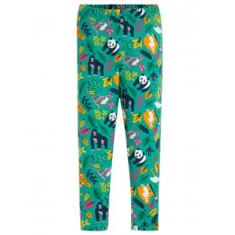 Frugi Endangered Heroes Libby Printed Leggings