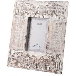 Elephant Carved Photoframe