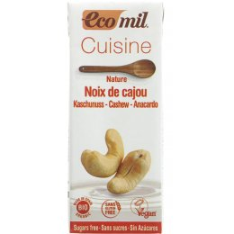 Ecomil Cuisine Cashew Cream No Sugar - 200ml