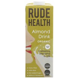 Rude Health Organic Almond Drink - 1L