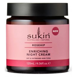 Sukin Rose Hip Enriching Night Cream - 120ml