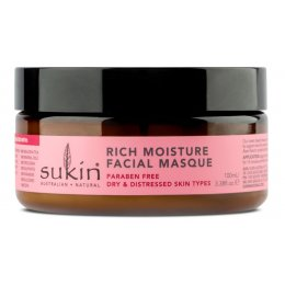 Sukin Rose Hip Rich Moisture Facial Masque - 100ml