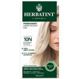 Herbatint Permanent Hair Dye - 10N Platinum Blonde - 150ml