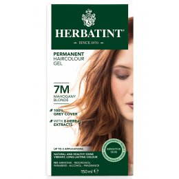Herbatint Permanent Hair Dye - 7M Mahogany Blonde - 150ml